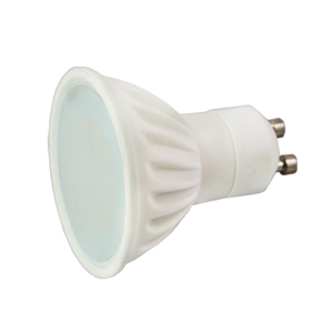 Lampada led gu10 230v 3w 250 lumens branco 6000k for Lampada led gu10
